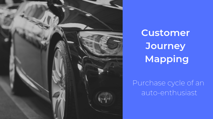 Customer Journey Mapping for an Automobile Brand